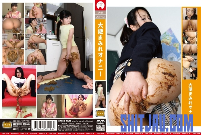 GESU-001 大便まみれオナニー スカトロ Defecation Scat Masturbation (2018/SD/607 MB) 244.0190_GESU-001