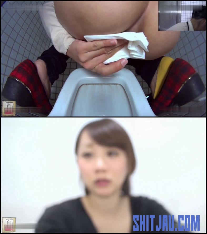 BFJG-59 Girls looking in the camera during a bowel movement in toilet (2018/FullHD/607 MB) 086.1712_BFJG-59