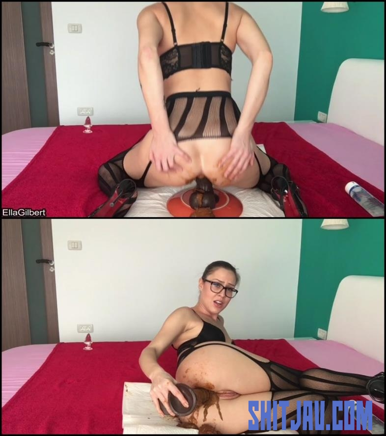[Special #575] Ella Gilbert in black stokings hard fucked her dirty anal hole (2018/FullHD/981 MB) 182.575_BFSpec-575