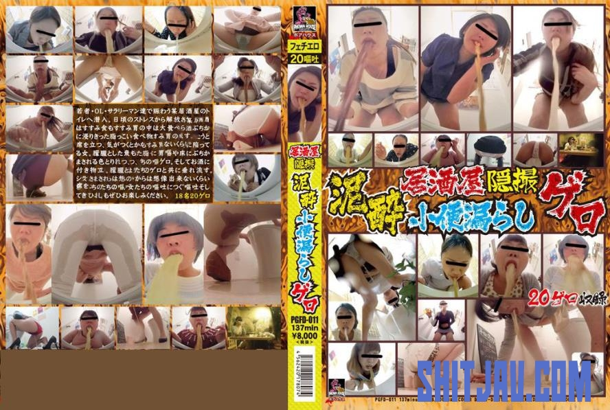 PGFD-011 Dead Drunk Pissing and Toilet Vomit 死んで酔って、トイレ嘔吐物 (2020/FullHD/5.02 GB) 2.2677_PGFD-011