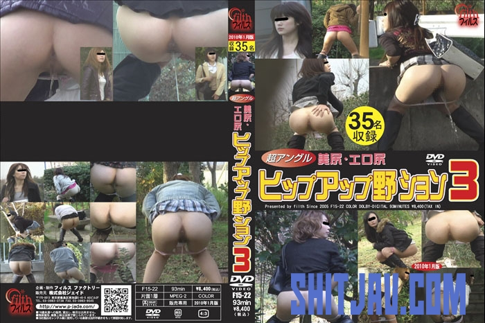 F15-22 Super Angle Beauty Outdoor Peeing 極度の角度の美の屋外の小便 (2020/SD/1.35 GB) 1.2847_F15-22