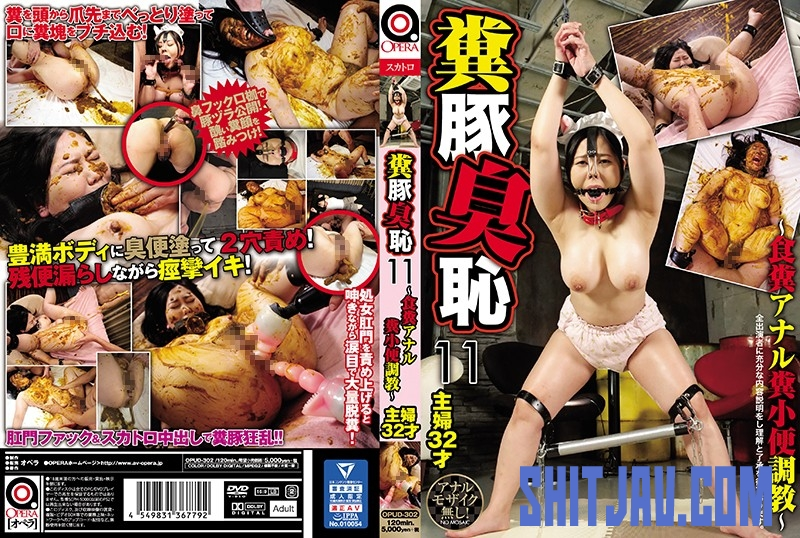 OPUD-302 Pig Smell Shame ~ Anal Feces, Piss Excavation 豚臭羞恥~アナル糞、小便発掘調査~ (2020/SD/1.65 GB) 2.3611_OPUD-302